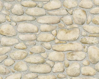 A.S. Création Wallpaper «Stone, Brown» 834515