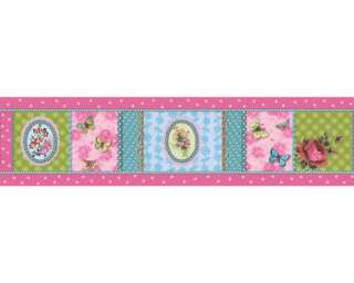 A.S. Création Border «Floral, Coloured» 865717