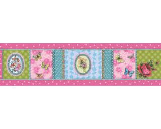 A.S. Création Wallpaper «Floral, Coloured» 865717