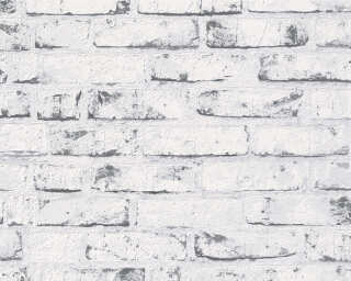 A.S. Création Wallpaper «Stone, Cottage, Beige, Grey» 907837