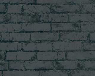 MICHALSKY LIVING Обои «Под камень, Металлик, Черные» 907882