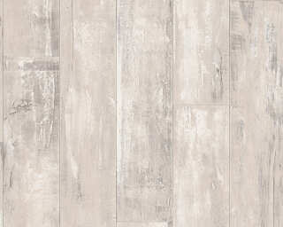 Lutèce Wallpaper «Wood, Beige, Black» 916419