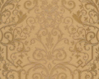 Versace Home Wallpaper «Baroque, Bronze, Metallic» 935453