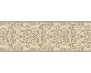 Versace Home Border «Baroque, Cream, Grey, Metallic» 935475
