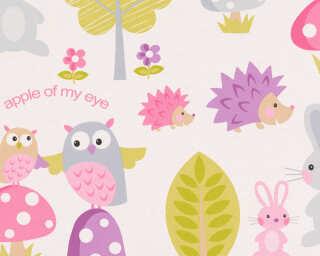 A.S. Création экологичные обои «Детский мотив, Графика, Белые, Разноцветные» 935551