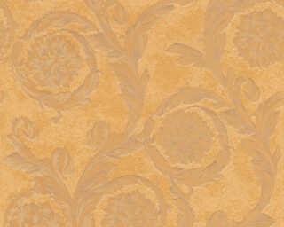 Versace Home Wallpaper «Baroque, Brown, Copper, Metallic» 935882