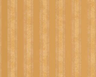 Versace Home Wallpaper «Stripes, Brown, Copper, Metallic» 935892