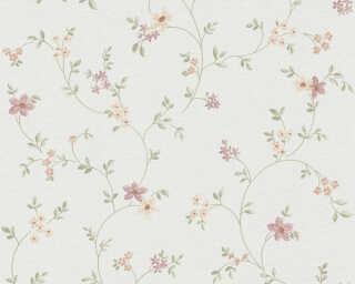 Livingwalls Wallpaper «Cottage, Flowers, Coloured, Green, White» 937701