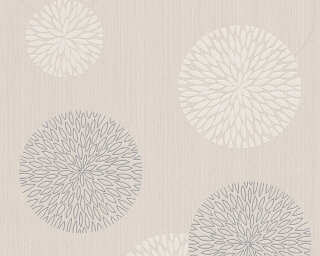 Livingwalls Wallpaper «Graphics, Beige, Cream, Metallic» 937912