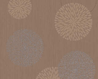 Livingwalls Wallpaper «Graphics, Brown, Metallic» 937913