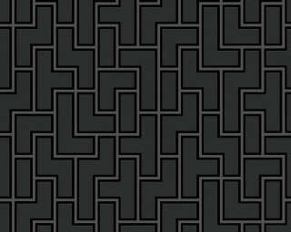 MICHALSKY LIVING Wallpaper «Graphics, 3D, Black, Metallic» 939371