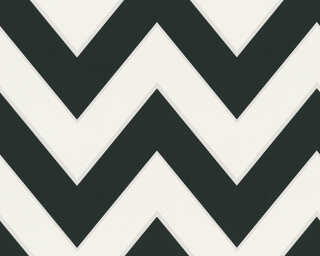 MICHALSKY LIVING Wallpaper «Stripes, 3D, Black, White» 939431