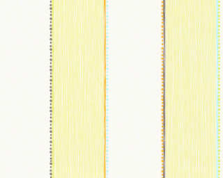 Esprit Home papier peint «Rayures, blanc, orange, vert» 941141