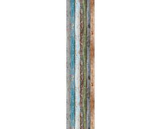 Livingwalls Designpanel «Holz, Landhaus, Bunt» 942191