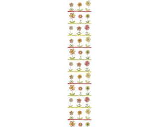 Livingwalls Designpanel «Floral, Bunt, Orange, Weiß» 942322