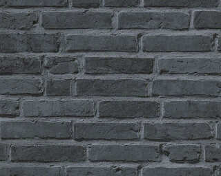 A.S. Création Wallpaper «Stone, Cottage, Black, Grey» 942833