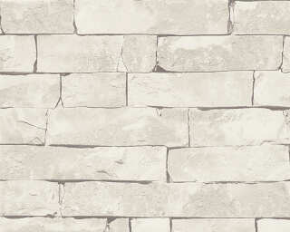 Lutèce Wallpaper «Stone, Beige, Grey» 943415