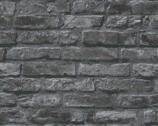 A.S. Création экологичные обои «Под камень, Деревенский стиль, Серыe, Черные» 954701