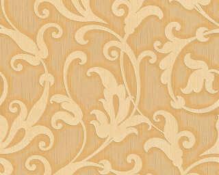 Architects Paper Tapete «Barock, Blumen, Gelb, Metallics, Orange» 954903