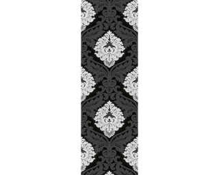 Livingwalls panneau «Baroque, Floral, beige, blanc, crème, gris» 955661