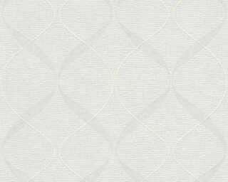 A.S. Création Vliestapete «Grafik, Weiß, Überstreichbar» 956821