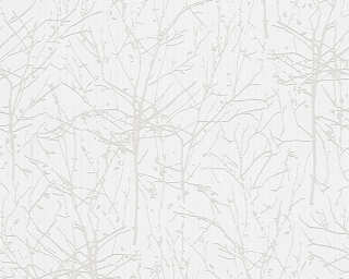 Esprit Home Wallpaper «Cottage, Floral, Beige, Cream, Grey, White» 958481