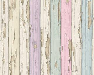 A.S. Création Tapete «Holz, Landhaus, Beige, Rosa, Violett» 958832
