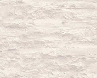 A.S. Création Wallpaper «Stone, Cream, White» 959083