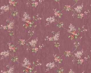 A.S. Création Обои «Деревенский стиль, Флора, Красные, Разноцветные, Фиолетовые» 959284