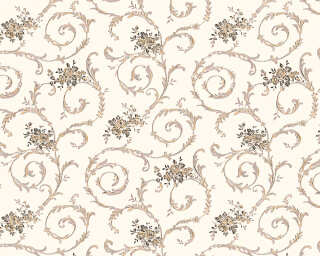 A.S. Création Wallpaper «Cottage, Grey, White» 959782