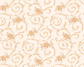 A.S. Création Wallpaper «Cottage, Orange, White, Yellow» 959784