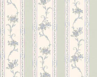 A.S. Création Wallpaper «Cottage, Blue, Green, Turquoise» 959791