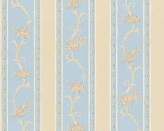 A.S. Création Wallpaper «Cottage, Beige, Blue» 959793