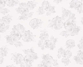 MICHALSKY LIVING Wallpaper «Floral, Grey, White» 961331