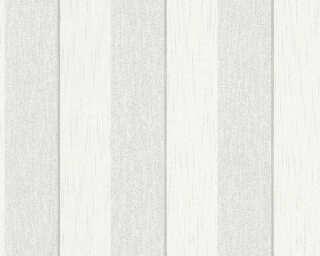 Architects Paper Tapete «Streifen, Grau, Weiß» 961941