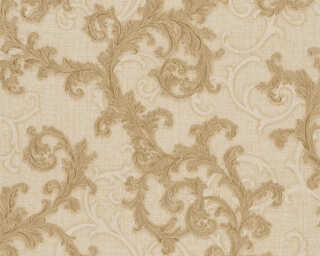 Versace Home Wallpaper «Baroque, Beige, Metallic» 962312