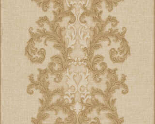 Versace Home Wallpaper «Baroque, Beige, Metallic» 962322