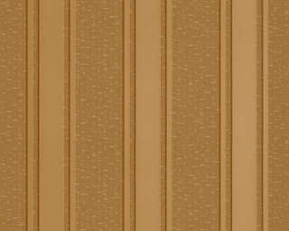 Versace Home papier peint «Rayures, jaune, marron, métallique, or» 962371