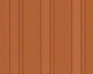 Versace Home papier peint «Rayures, cuivre, marron, métallique, orange» 962372