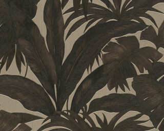 Versace Home Wallpaper «Jungle, Brown, Metallic» 962401