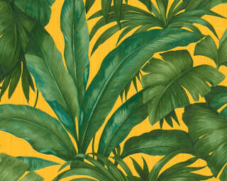 Versace Home Wallpaper «Jungle, Green, Yellow» 962403