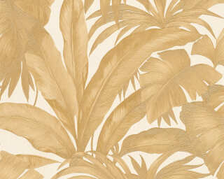 Versace Home Wallpaper «Jungle, Cream, Gold, Metallic» 962404