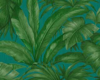 Versace Home Обои «Джунгли, Зеленые, Синие» 962406