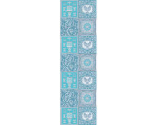 Versace Home Fotopaneel «Dieux Turquoise» 962722