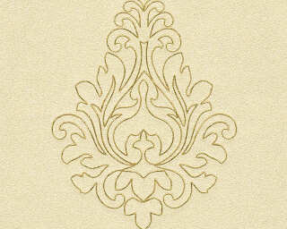 Architects Paper Design panel «Baroque, Gold, Metallic, Yellow» 969822