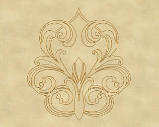 Architects Paper Design panel «Baroque, Gold, Metallic, Yellow» 969835