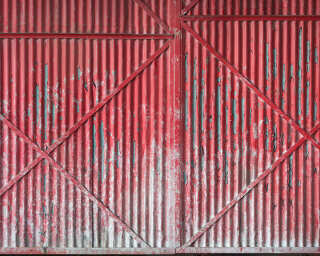 Architects Paper impression numérique «Iron Door Red» DD108585