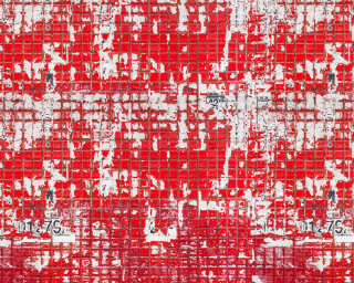 Architects Paper Photo wallpaper «Old Tiles Red» DD108815