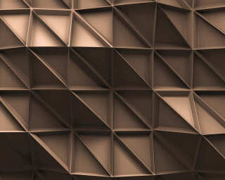 Architects Paper Photo wallpaper «3D Look Brown» DD108880