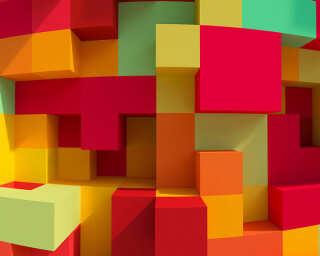 Architects Paper impression numérique «3DCubes Colour» DD108895